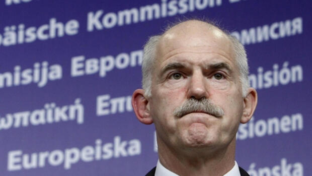 Giorgos Papandreou Quelle: REUTERS