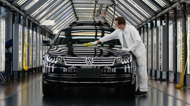 Eine Stadt bangt um das VW-Spitzenmodell
