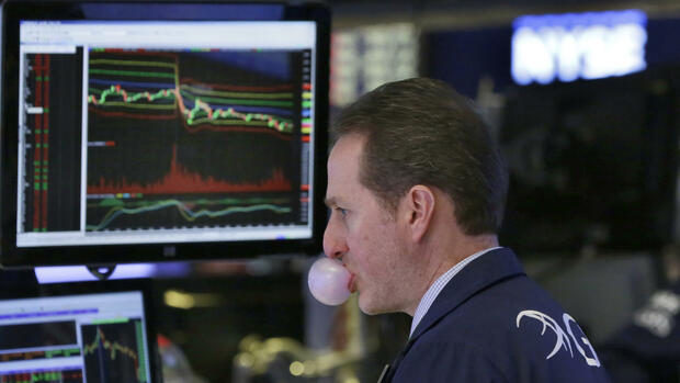 Das Parkett des New York Stock Exchange Quelle: AP