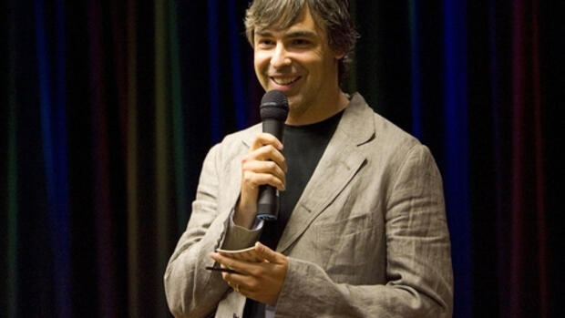 Google-Chef Larry Page Quelle: REUTERS