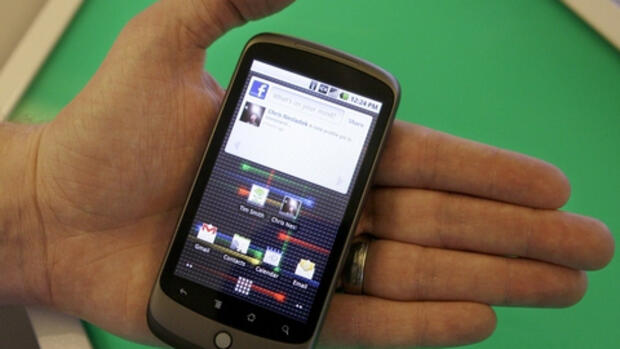 Google-Handy Nexus One Quelle: AP