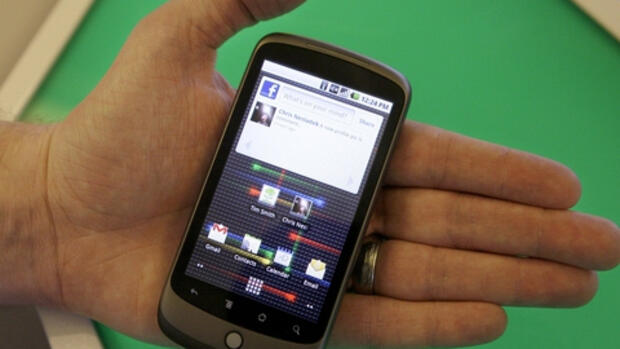 Googles neues Smartphone Nexus Quelle: AP