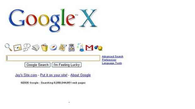 Google X Quelle: Screenshot
