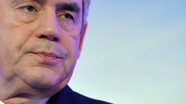 Gordon Brown Quelle: dpa