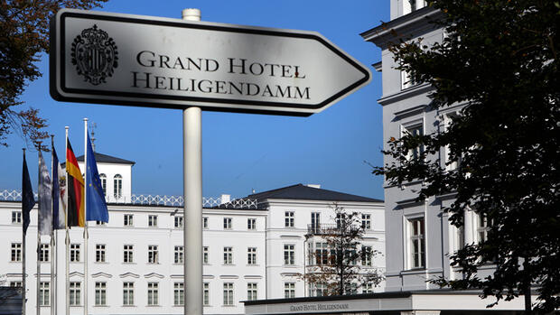 Grand Hotel Heiligendamm Quelle: dpa