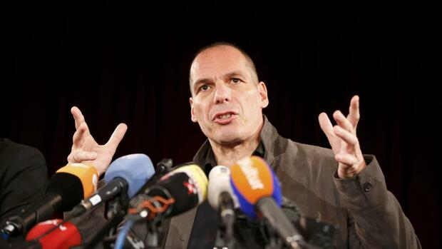 Gianis Varoufakis Quelle: REUTERS