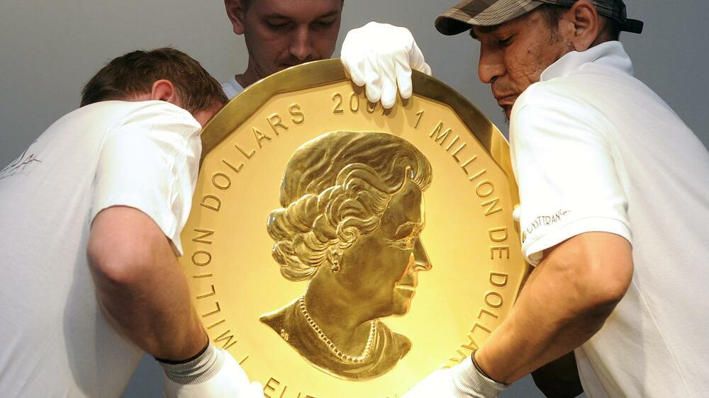 Big Maple Leaf Die Größten Goldmünzen Der Welt