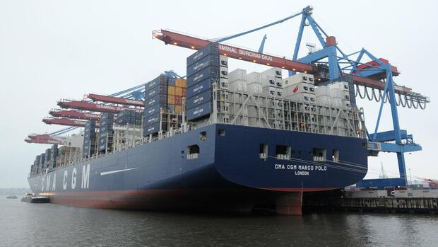 Fracht Und Logistik Gr 246 223 Tes Containerschiff Der Welt In