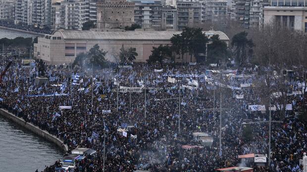 Streit um Namensrechte: Griechenland fordert Namensänderung Mazedoniens