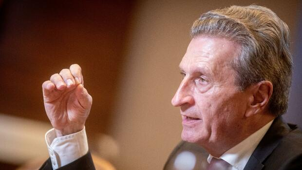 Günther Oettinger Quelle: dpa