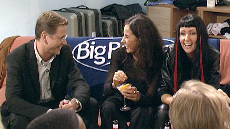 Guido Westerwelle im Big Brother Container Quelle: dpa