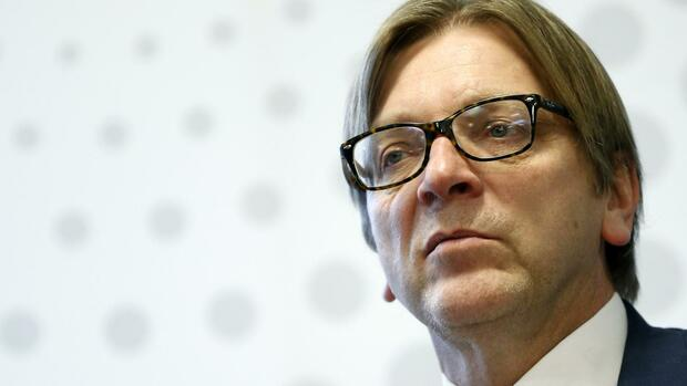 Guy Verhofstadt Quelle: REUTERS