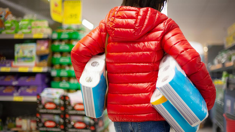 Toilettenpapier, Nudeln, Mehl: Wo in Deutschland am meisten gehamstert wurde