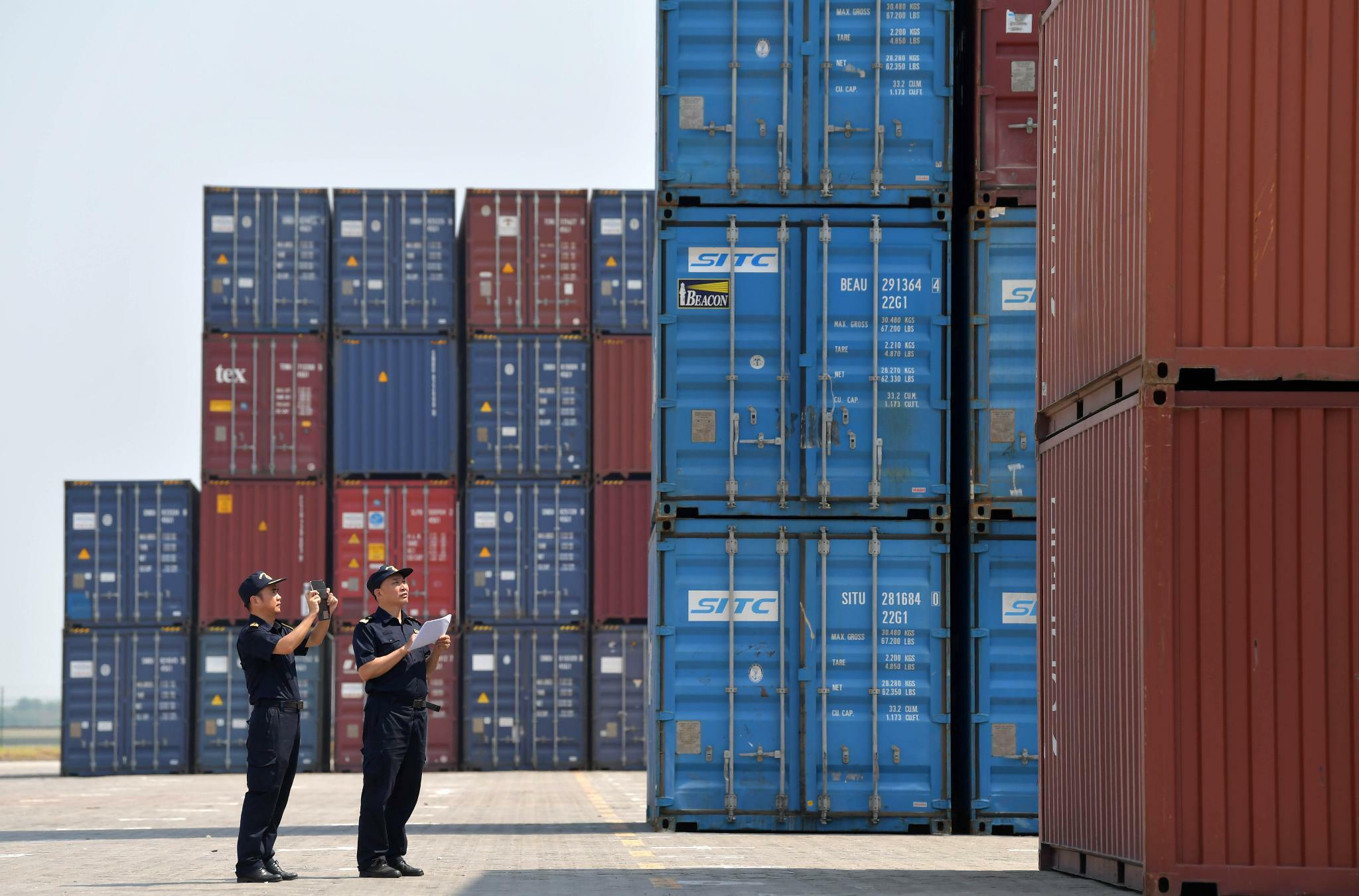 Handelskrieg: Chinas Exporte in die USA fallen stark