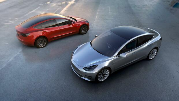 Tesla Motors: 1,4 Milliarden Dollar für Model 3 Quelle: REUTERS