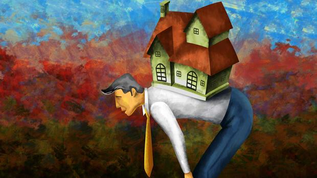 hypothek so vermeiden sie hohe schulden im rentenalter. Black Bedroom Furniture Sets. Home Design Ideas