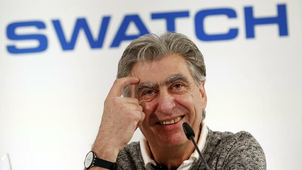 Nick Hayek, Swatch-Konzernchef Quelle: REUTERS