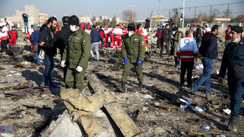"""Iranischer Bericht: """"Menschlicher Fehler"""" führte zum Flugzeug-Abschuss"""