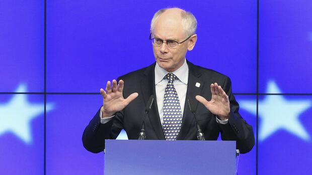 Herman Van Rompuy Quelle: REUTERS