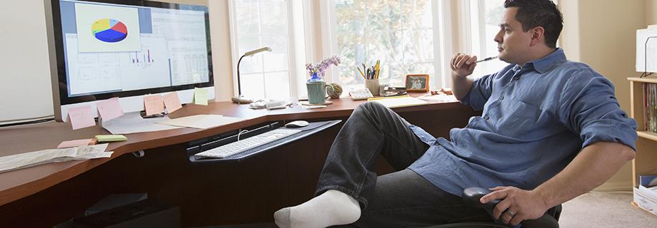 Arbeiten von zu Hause: Wenn Home Office zum Karrierekiller wird