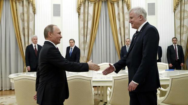 Seehofer Bei Putin