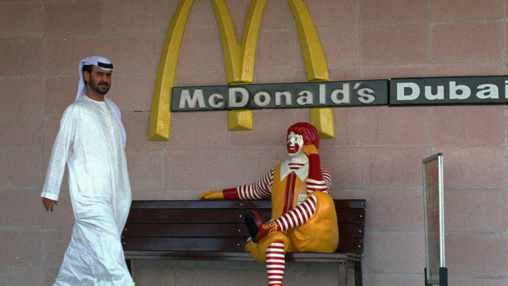 Der McDonalds-Clown Quelle: AP