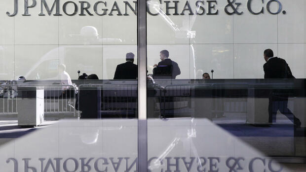 Die Zentrale der US-Bank JP Morgan Chase in New York. Quelle: AP