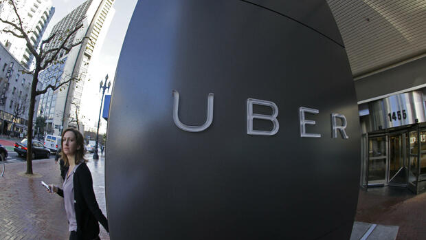 Uber-Hauptsitz in San Francisco Quelle: AP