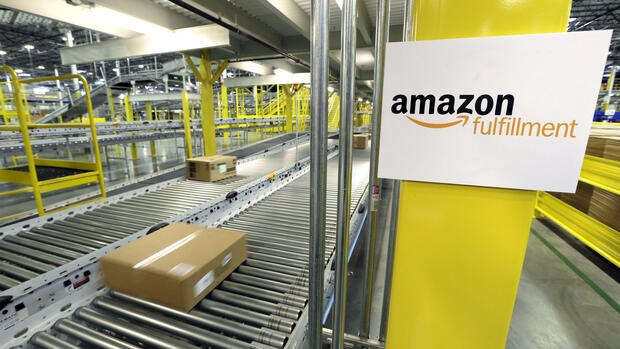 Amazon.com fulfillment center in DuPont, Wash Quelle: AP