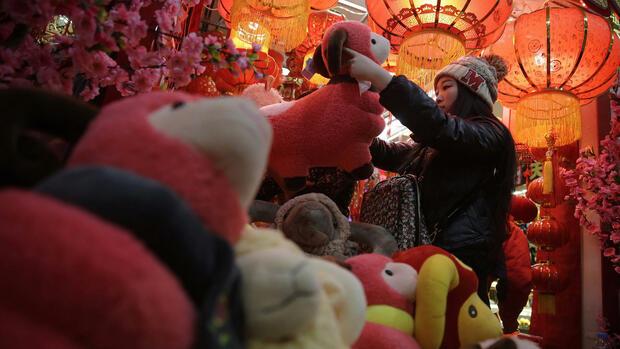 Chinesisches Neujahrsfest: Das Schaf hat in China ein Imageproblem