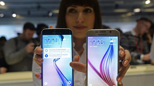 Galaxy S6 Quelle: AP