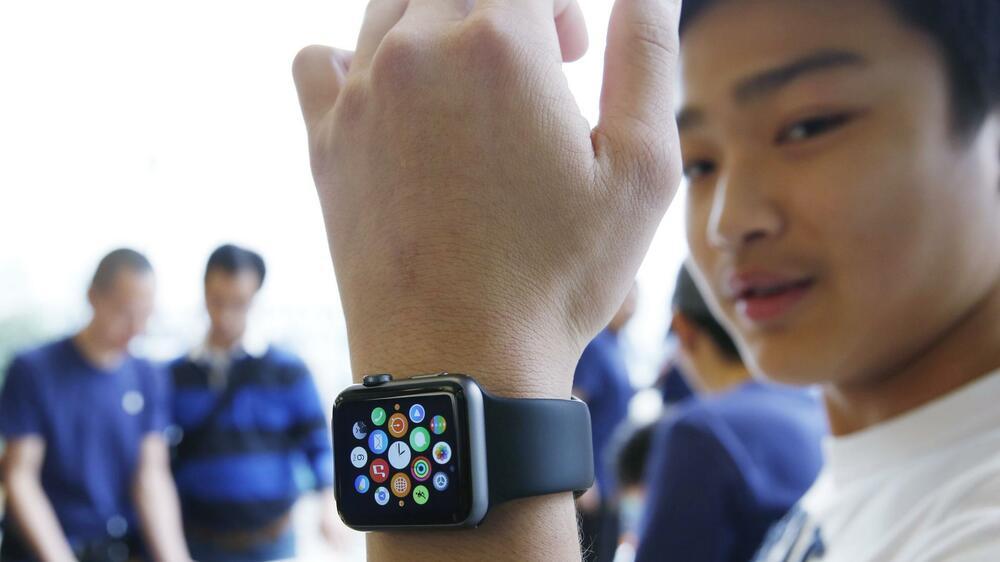 apple watch so sieht apples erste smartwatch aus. Black Bedroom Furniture Sets. Home Design Ideas