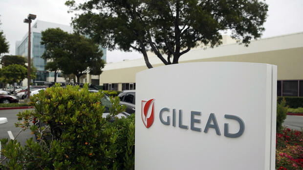 Der Konzernsitz von Gilead Sciences in Foster City Quelle: AP