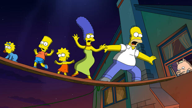 Szene aus Simpsons - The Movie Quelle: AP