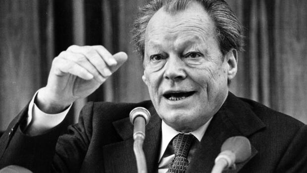 Willy Brandt Quelle: AP