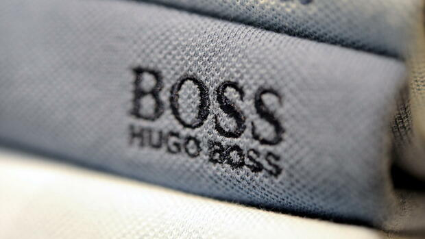 Hugo-Boss-Logo Quelle: dpa