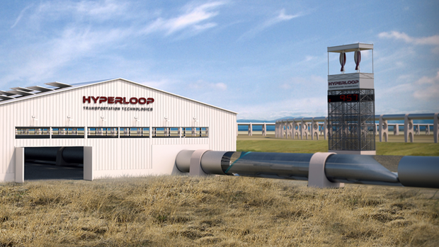 Die Hyperloop-Teststrecke in Kalifornien. Quelle: Presse