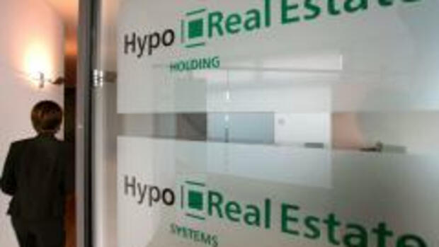 Hypo-Real-Estate-Bank in Quelle: dpa