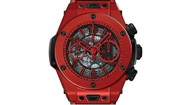Hublot Big Bang Unico Red Magic Quelle: PR