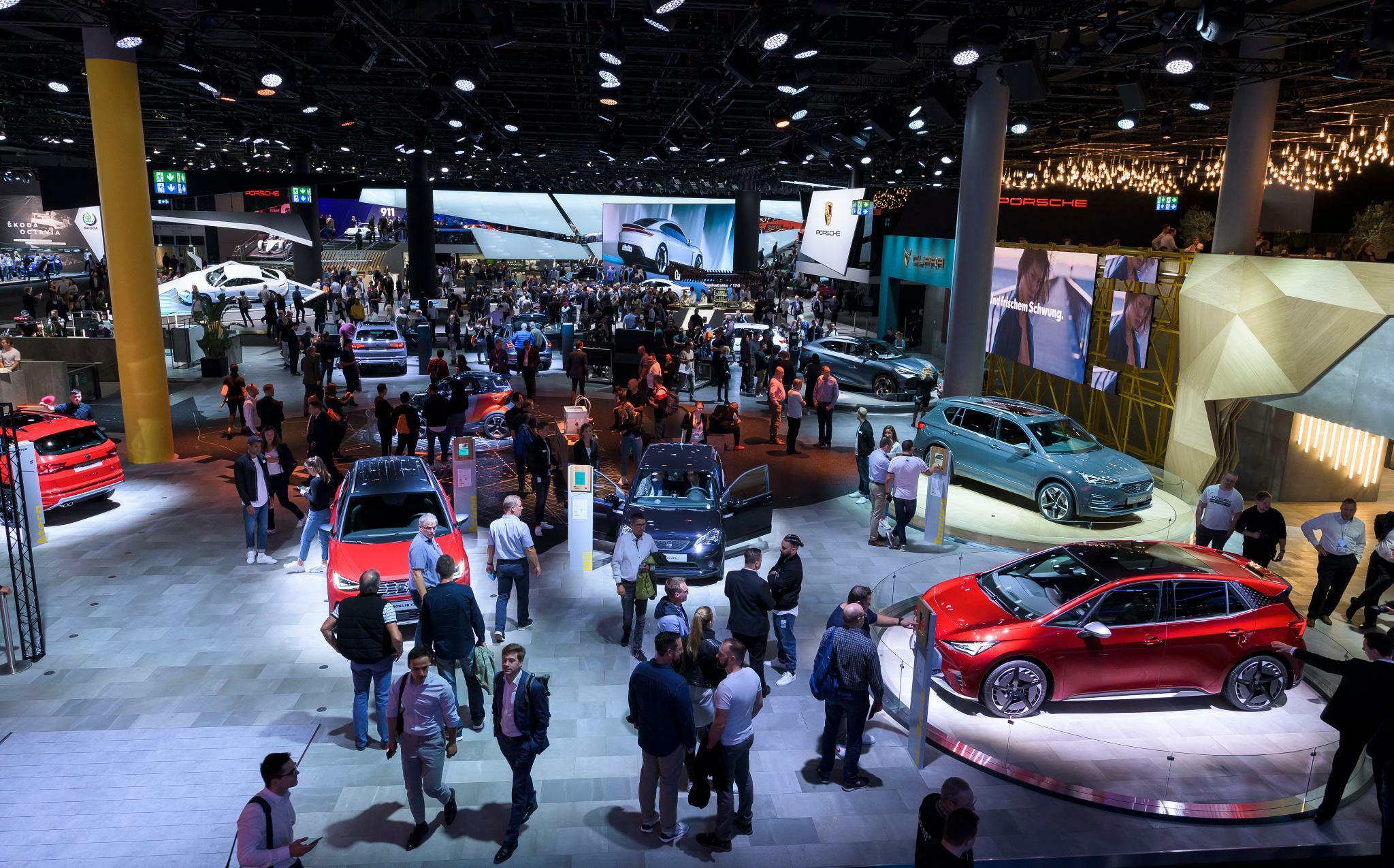 Autobranche: Deutlich weniger Besucher bei Automesse IAA