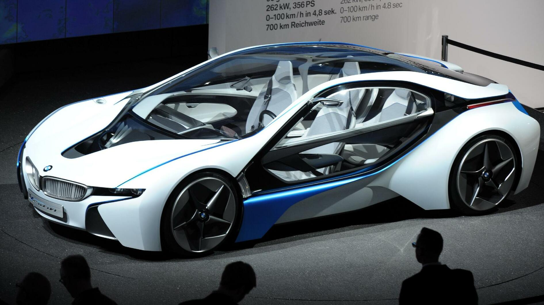 BMW Vision Efficient Dynamics Quelle: dpa