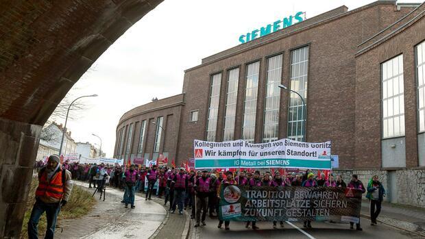 Siemens Reduziert Geplanten Stellenabbau In Der Kraftwerks Sparte