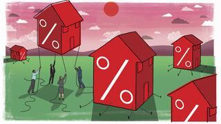 Vergabe von Baukrediten: Rekord-Immobilienkredite trotz Corona – auch dank neuem Zinstief