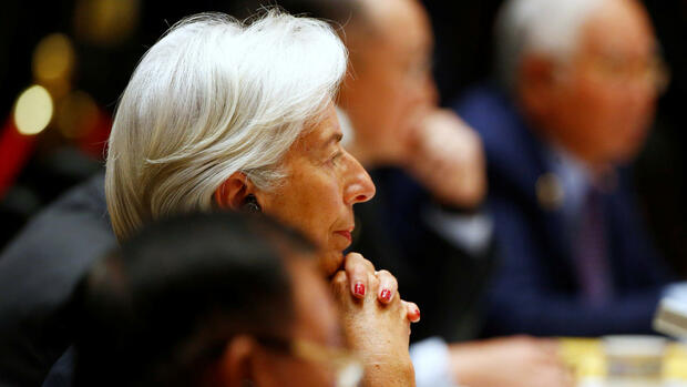 Die Chefin des Internationalen Währungsfonds (IWF): Christine Lagarde. Quelle: REUTERS