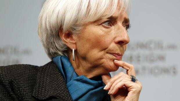 Christine Lagarde. Quelle: REUTERS