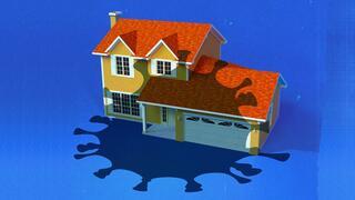 Mit Corona infiziert: Der Tod des Immobilienbooms