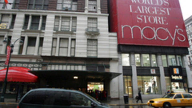 In New York steht Macy's, das Quelle: AP
