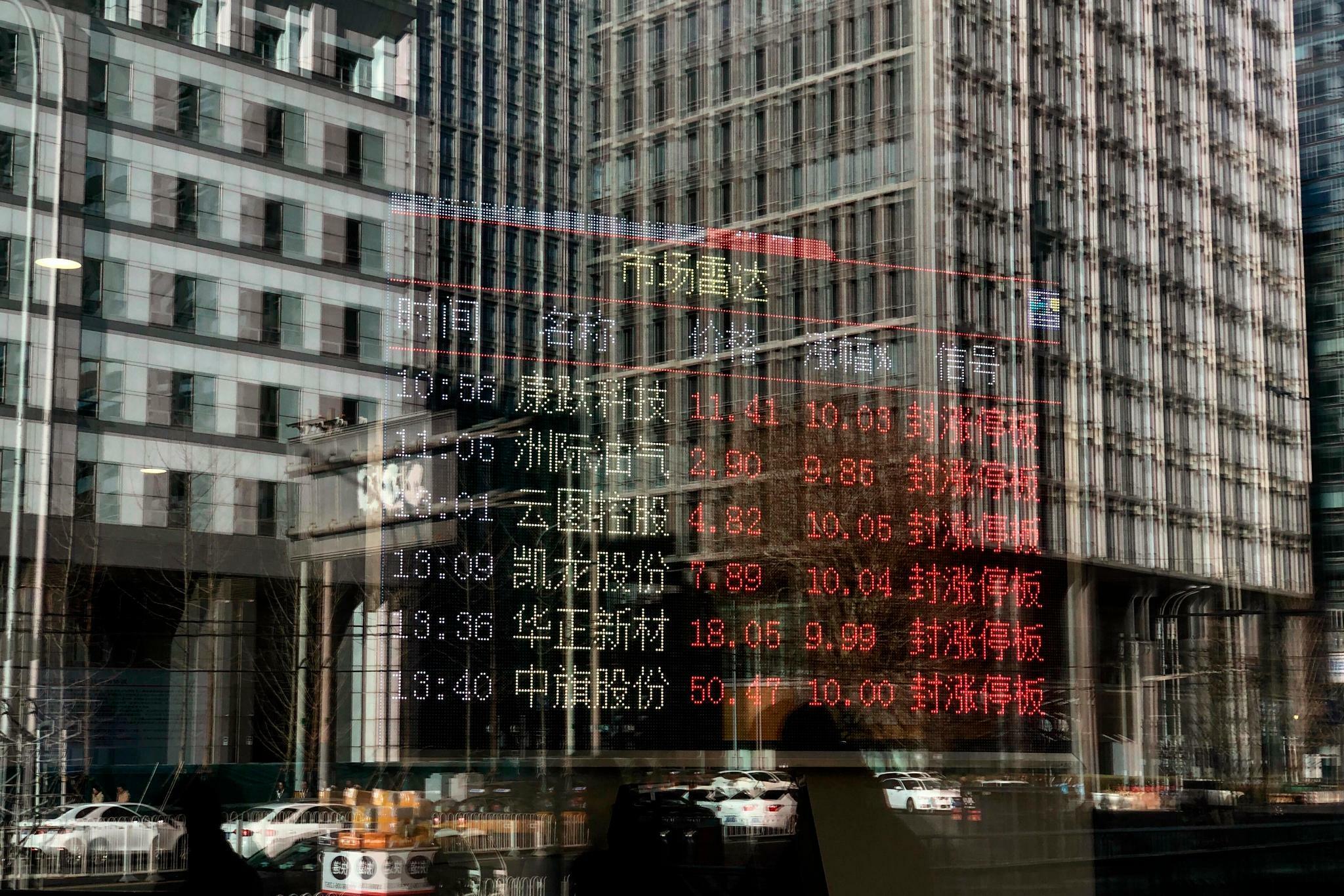 China: Deutsche Firmen bekommen Abschwung zu spüren