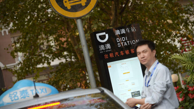 Didi-Station in China Quelle: AP
