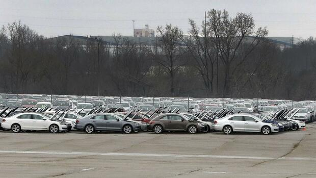 VW-Autofriedhof in den USA Quelle: AP